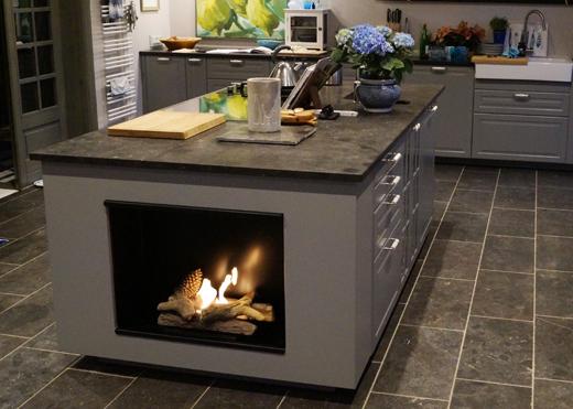 gem tliche flammen in der wohnk che referenzen im privaten bereich. Black Bedroom Furniture Sets. Home Design Ideas